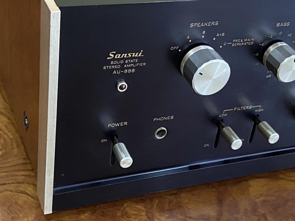 Sansui-AU 888 integrated amplifier sold 15cfdb10