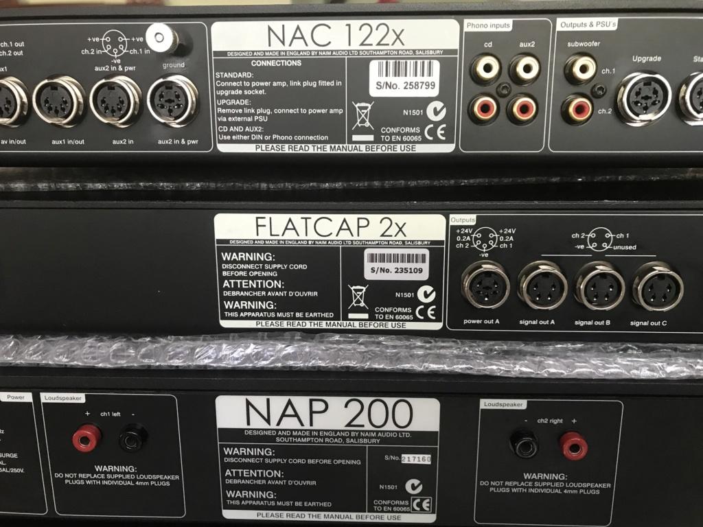 Naim pre power Cdp & flatcap 17b33b10