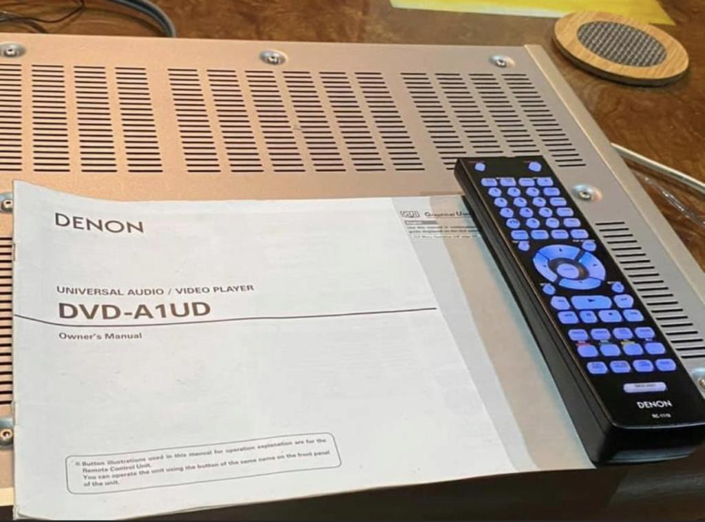Denon DVD -A1UD no disc error 17e92910