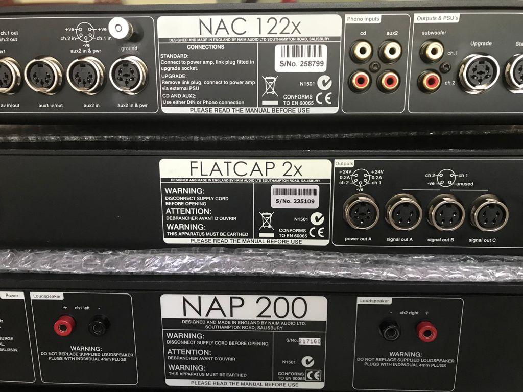 Naim nap 200 nac122x n 2x pre power n flatcap  187e4710