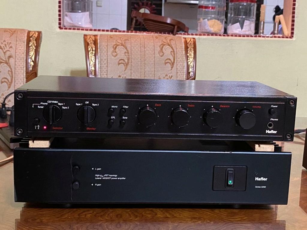 Hafler pre n power amplifier  1e598210