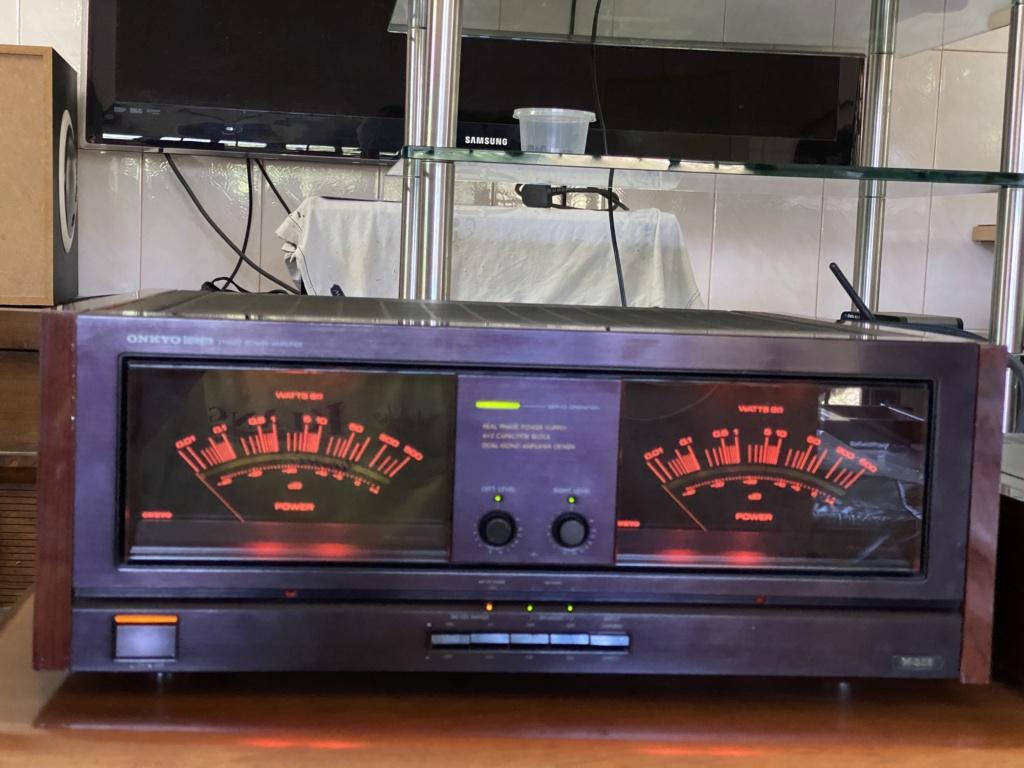 ONKYO monster power amp M508& pre 308 1ee28410