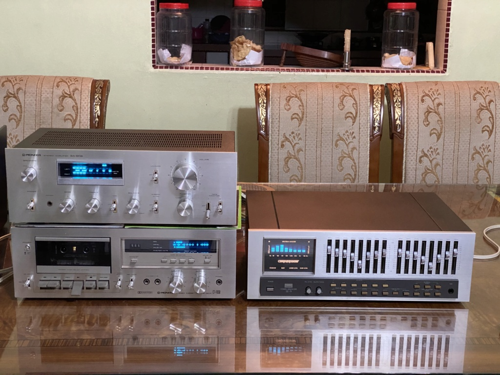 Blue line pioneer amp deck n sansui Eq hiend  206d8110