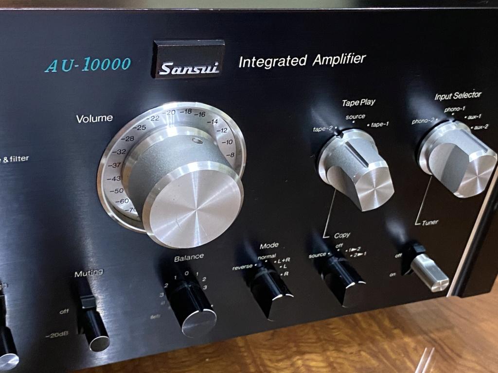 Sansui Au-10000 integrated amplifier   2106e110
