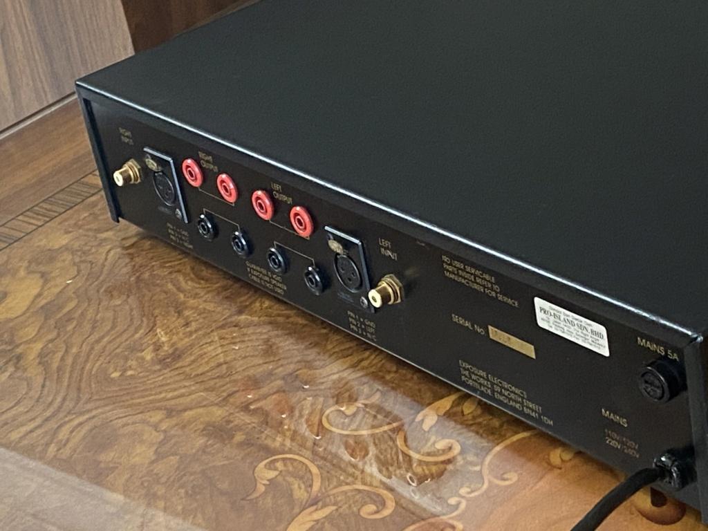 Exposure XVIII power amplifier  24c55310
