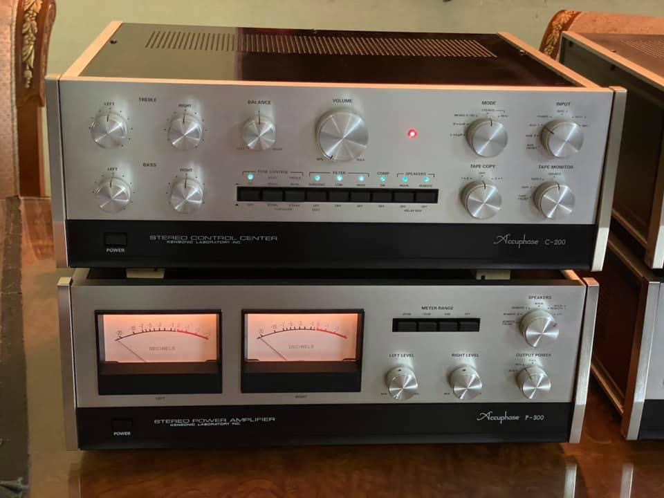 Accuphase p300s & c200s  2885e010