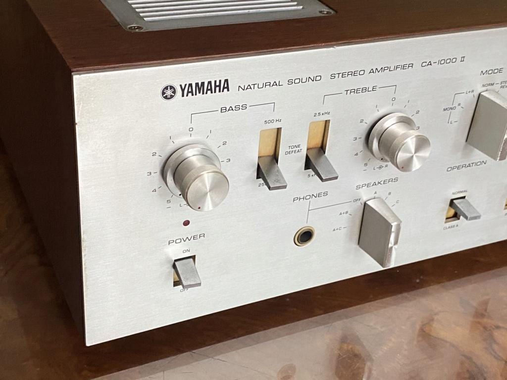 Yamaha NS-series CA-1000 ii Pre/ main amplifier 240v 2bb66b10