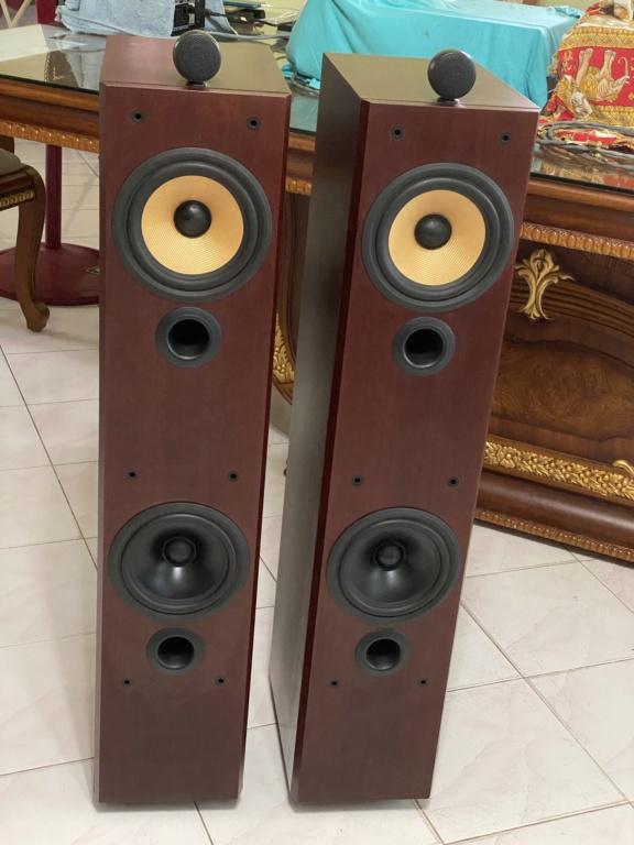B&W P6 Floor stand vintage speakers  31e69910