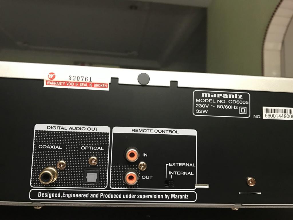 Marantz cd6005 w/usb input mint condition  3ab78c10
