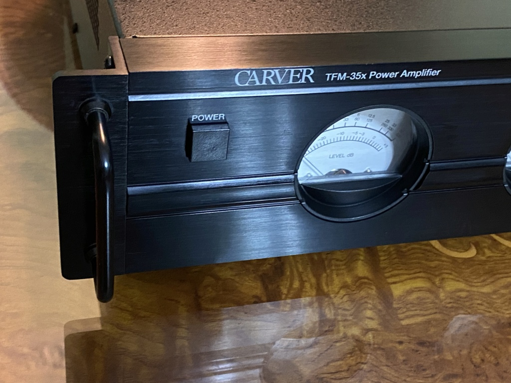 CARVER Tfm 35-x power amplifier made in USA  3f3b3310