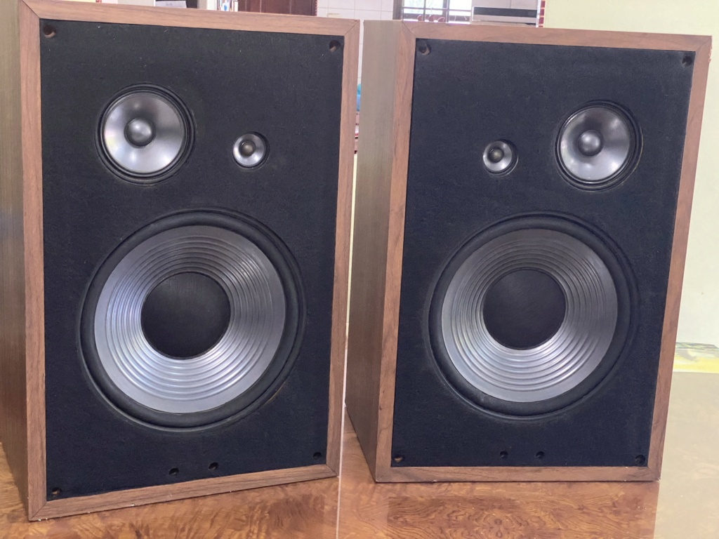 Robertson Audio model 31 speakers  46182f10