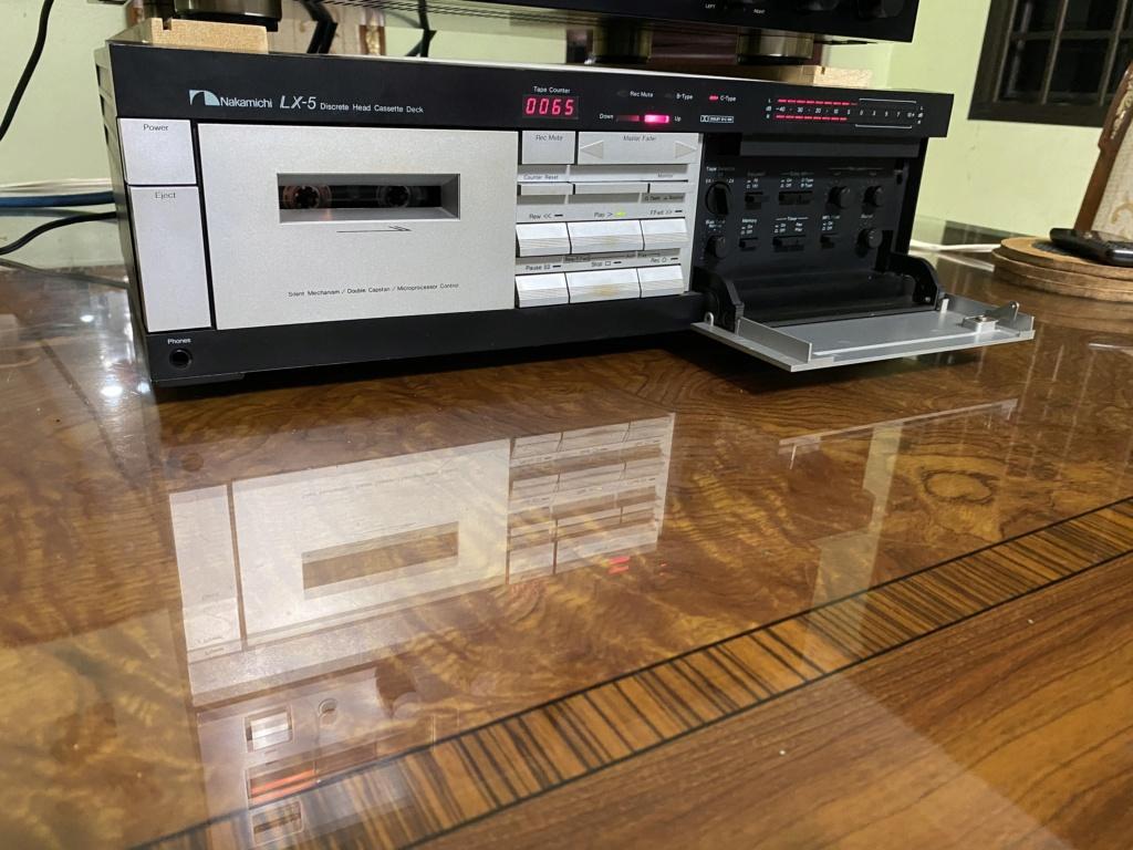 Nakamichi LX-5 3head cassette deck sold 46964a10