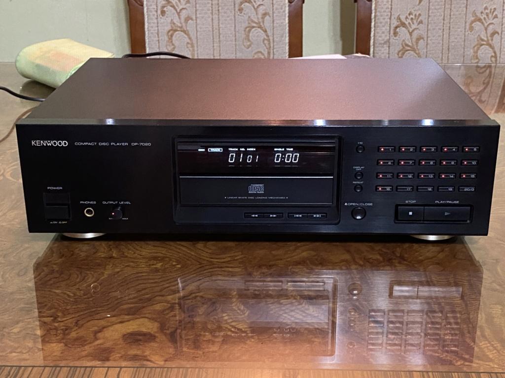Sold Kenwood DP-7020 audiophile CD player 58d76610