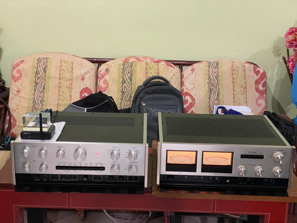 Accuphase pre & power super mint 240v  60c81310