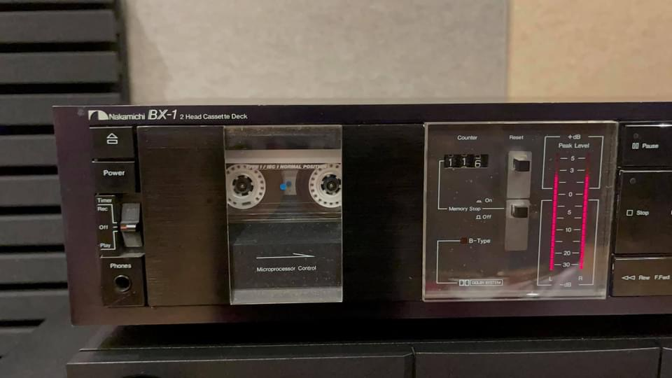 Nakamichi BX-1 cassette deck sold 6aae9010