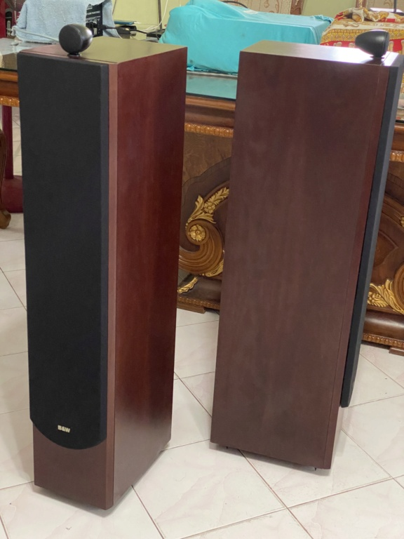 B&W P6 Floor stand vintage speakers  6c995910