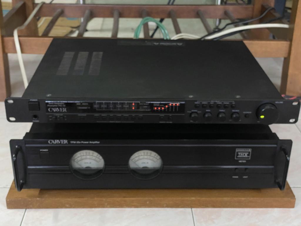 Carver pre n power amplifier  6ce4c010