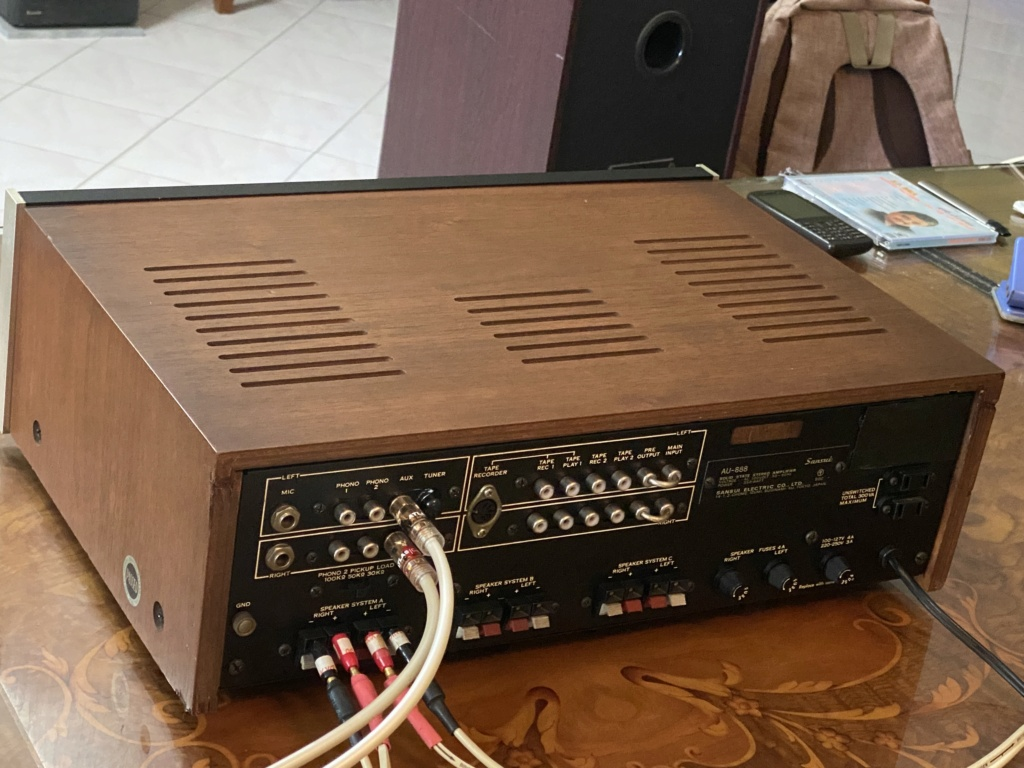Sansui-AU 888 integrated amplifier sold 74979210