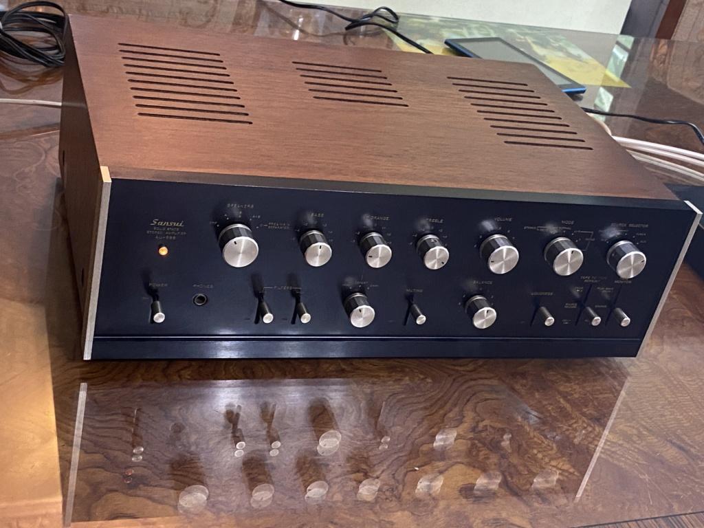 Sansui-AU 888 integrated amplifier sold 75dc6510