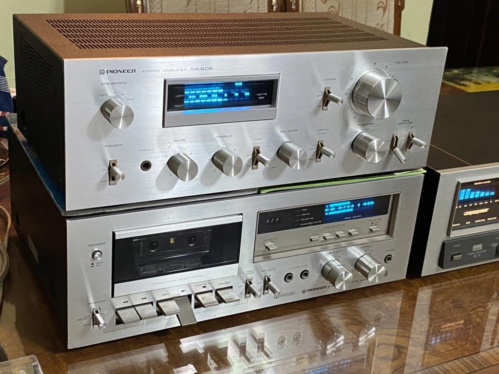 Pioneer amp deck& sansui Eq blueline series  78965110