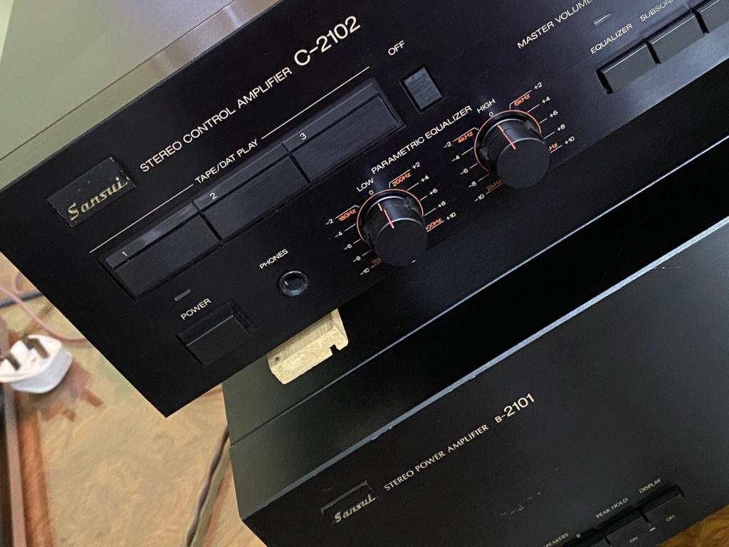 Sansui pre & power amp sold 7a70c410