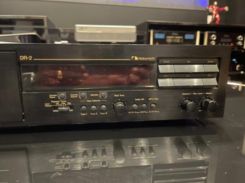 Nakamichi DR-2 Three head cassette deck( Mint) 7c2bec10