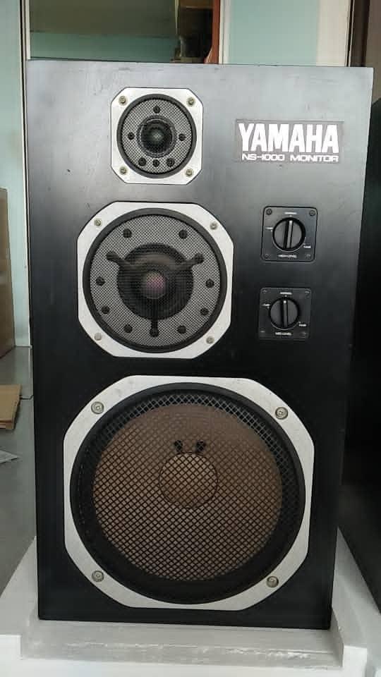 Yamaha NS-1000M studio monitor speakers  831ae910