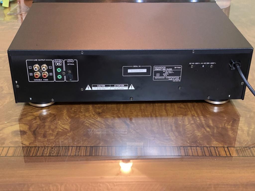 Sold Kenwood DP-7020 audiophile CD player 8bcd5410