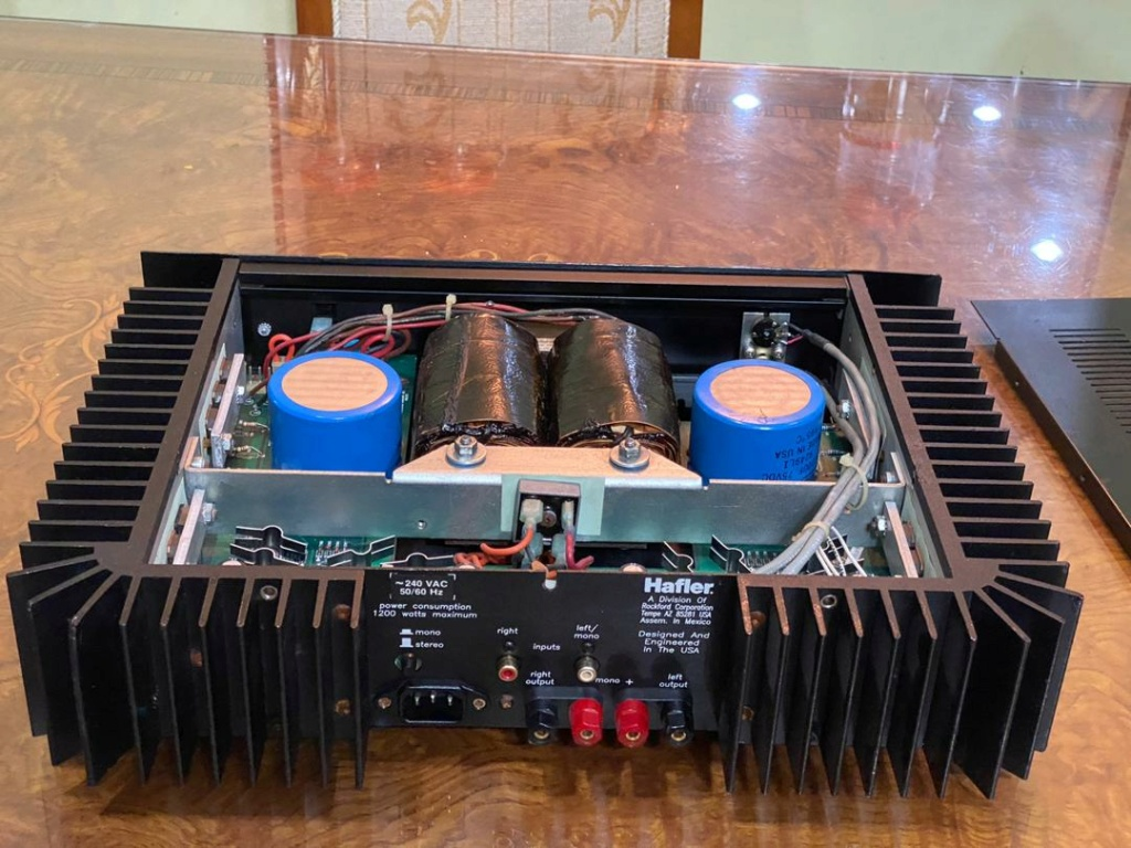 Hafler pre n power amplifier  8bcdf310