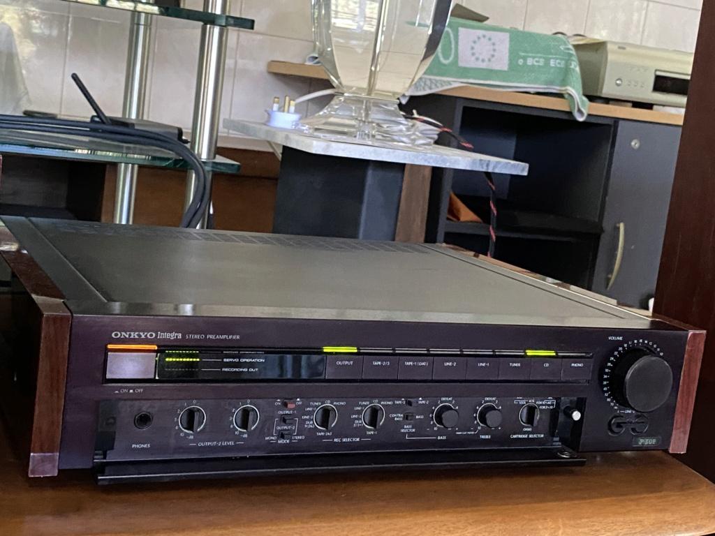 ONKYO monster power amp M508& pre 308 8ed32210