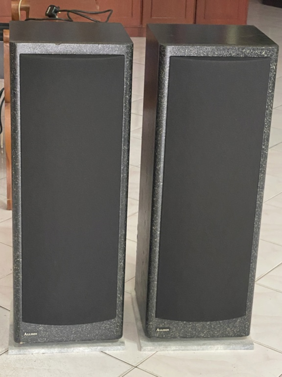 Vintage Allison acoustic floor stand speakers  8ef64910