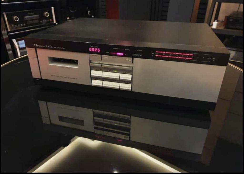 Nakamichi LX-3 cassette deck 9db50710