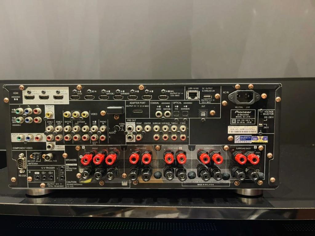Pioneer SC-LX 78 Atmos AV receiver A2287210