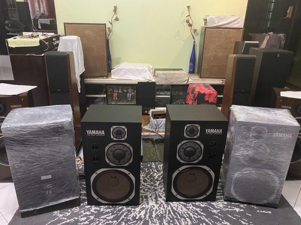 Yamaha NS1000M studio monitor speakers  A43abf10