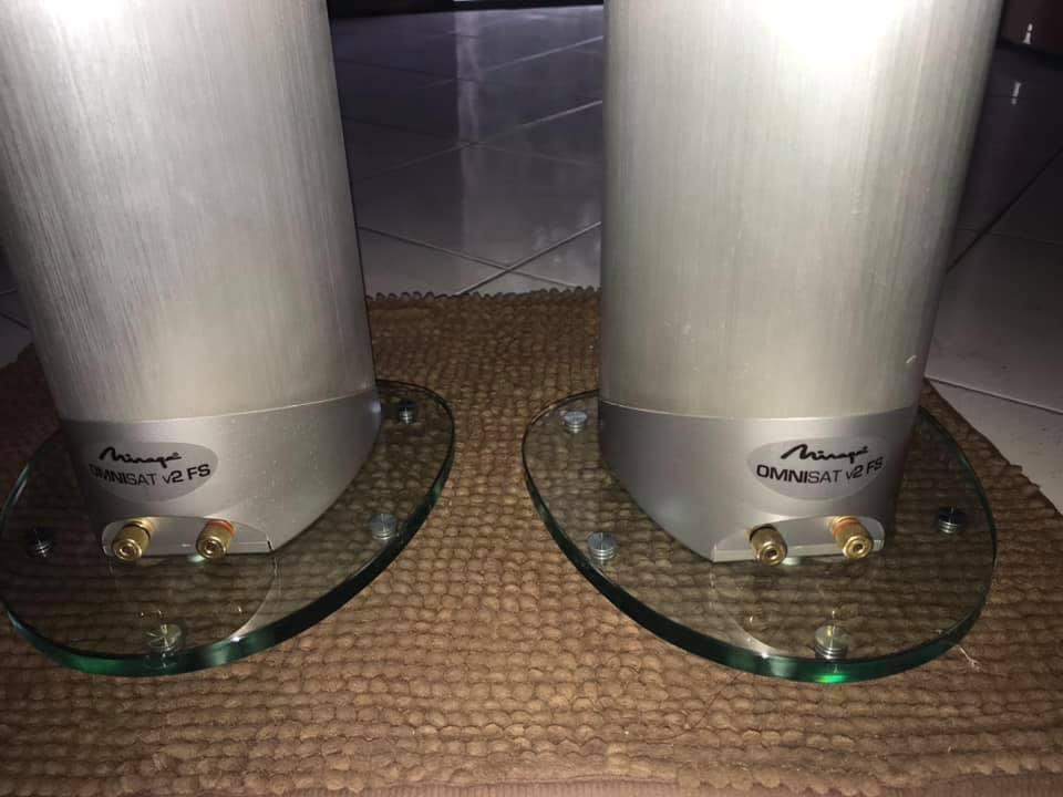 Mirage omnisat v2 F/S speakers  A7cca110