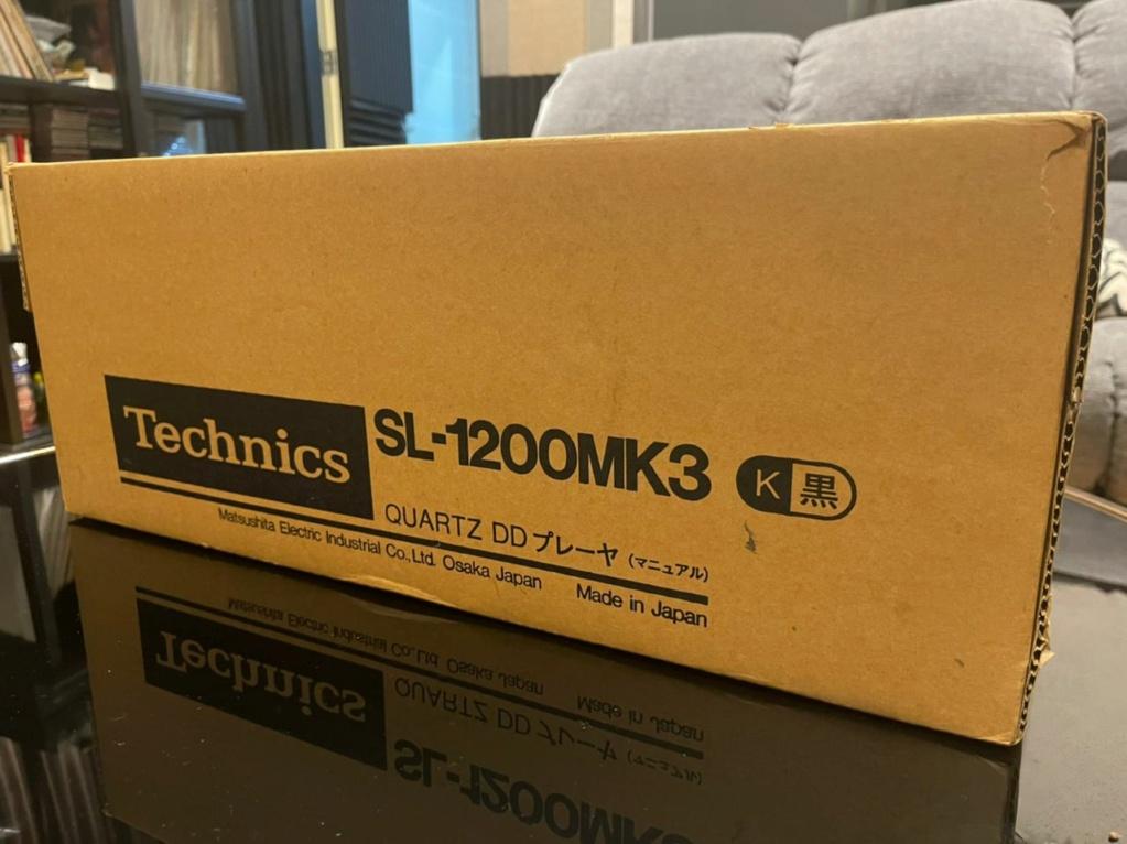 SOLD Technics SL-1200 MK-3 ( open box) B3580e10