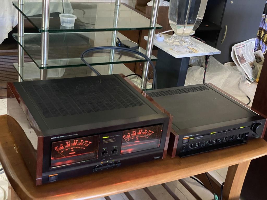 ONKYO monster power amp M508& pre 308 Bb630110