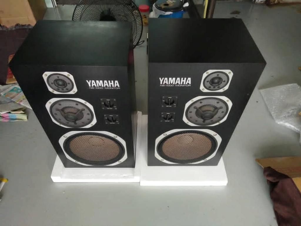 Yamaha NS-1000M studio monitor speakers  Bb8d2b10