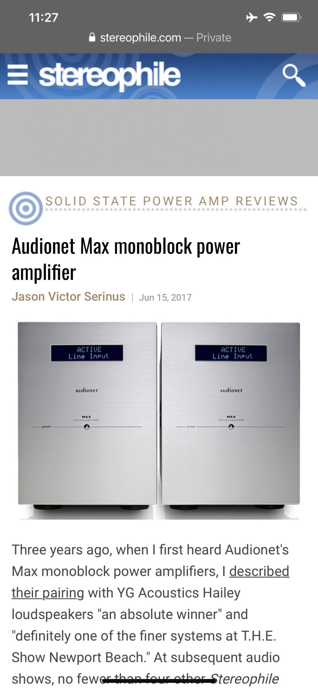 Audionet pre n mono block hiend  Bee42d10
