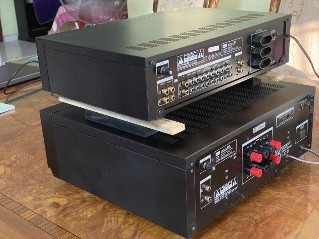 Sansui pre & power amp sold C336d910