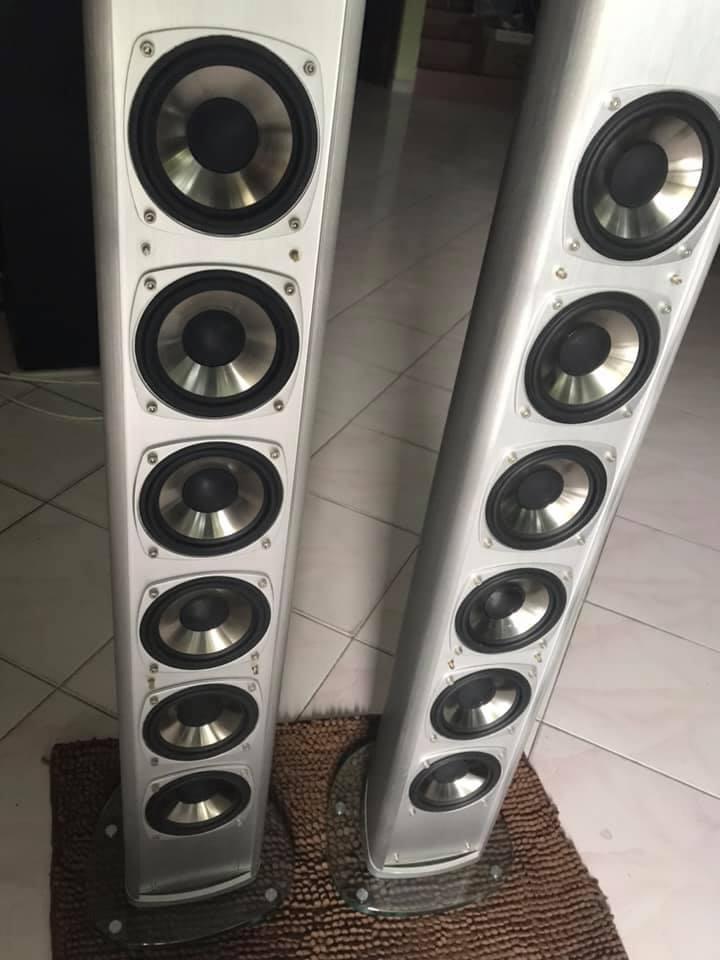 Mirage omnisat v2 F/S speakers  Cafec610