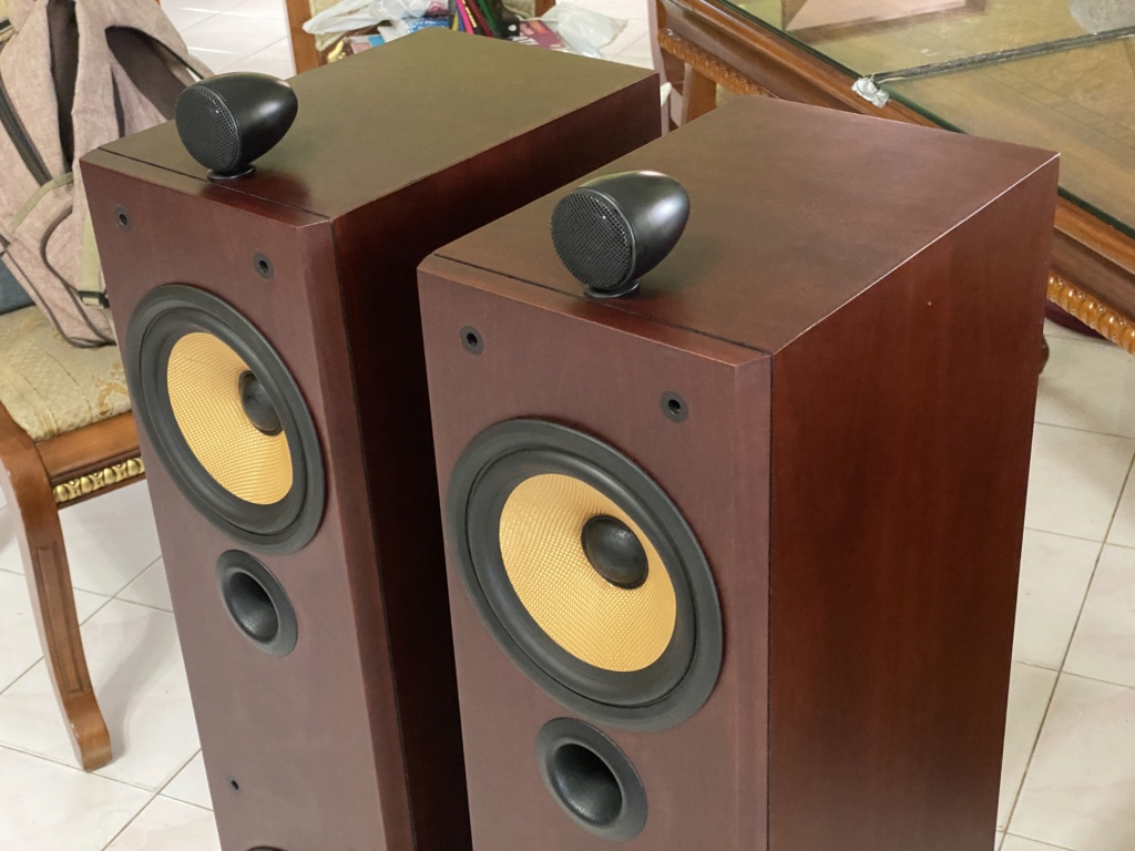 B&W P6 Floor stand vintage speakers  Ce91aa10