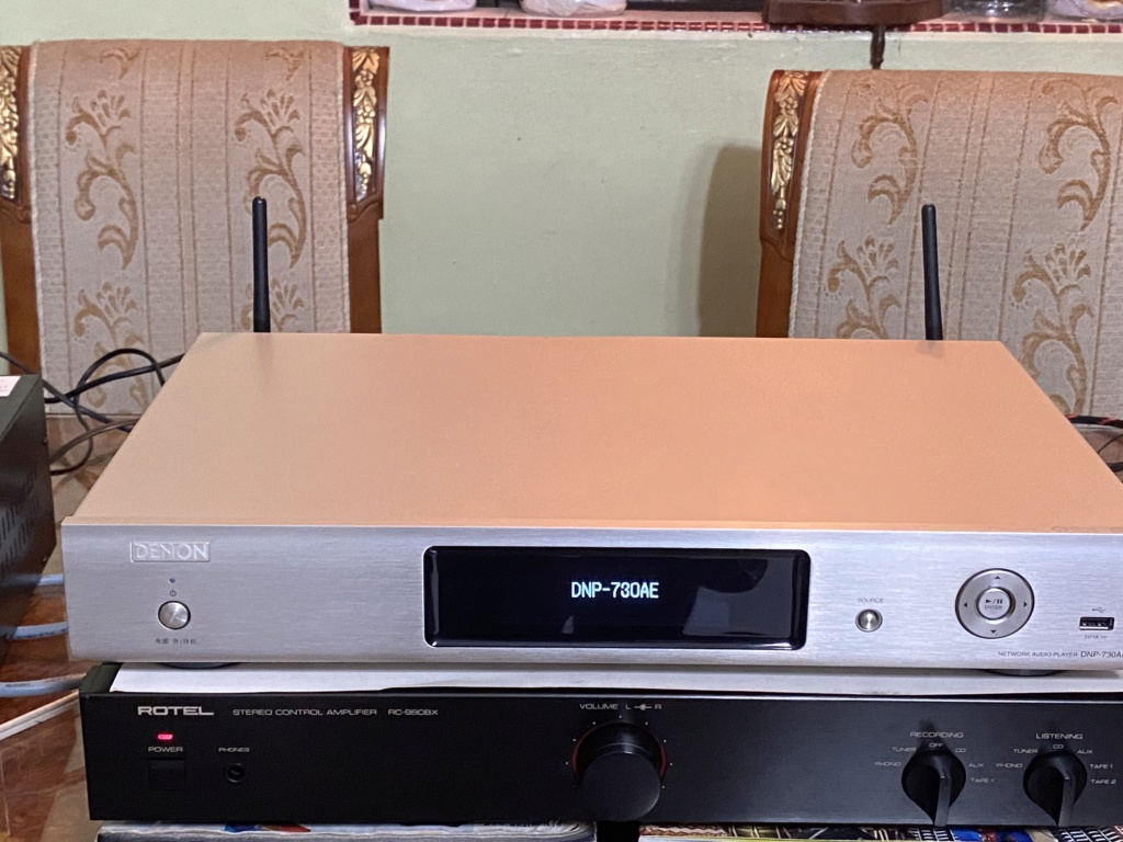 DENON DNP-730AE Network Audio Player with AirPlay D2460610