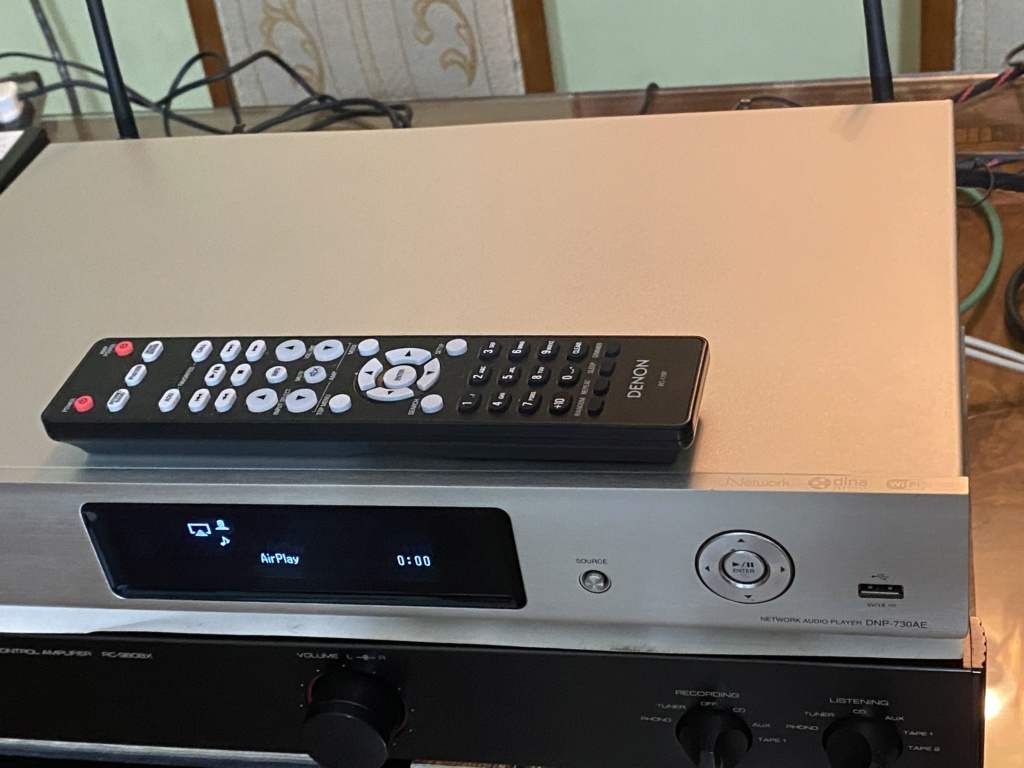 DENON DNP-730AE Network Audio Player with AirPlay D39ccc10