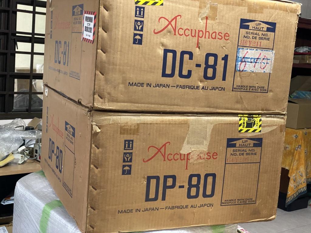 Accuphase DP80 CD n DC 81 DAC  Open box  D80a5e10