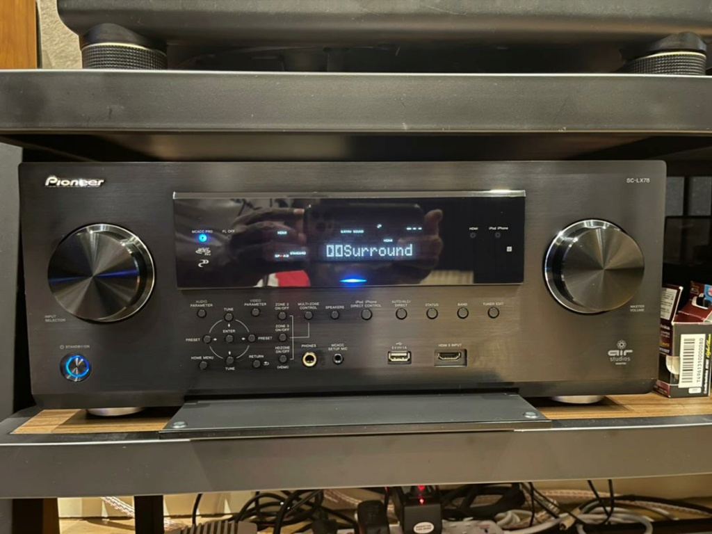 Pioneer SC-LX 78 Atmos AV receiver E4df4410