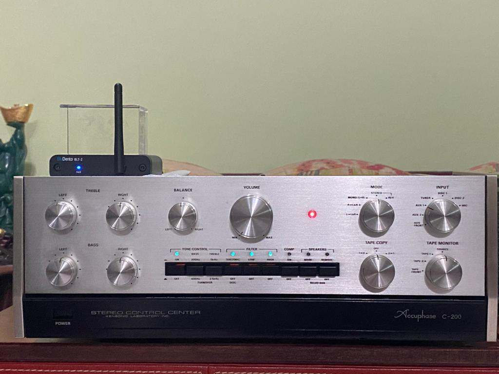 Accuphase pre & power super mint 240v  Ea3f3510