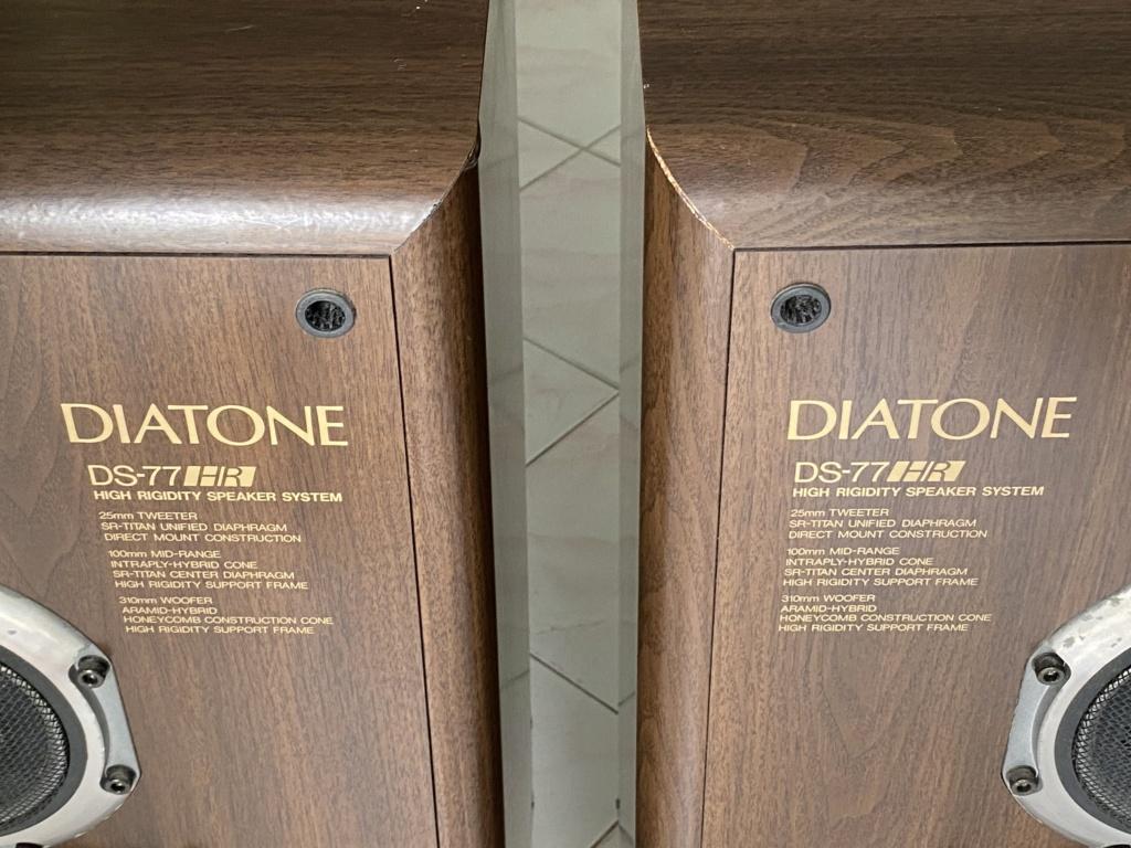 DIATONE DS-77HR sealed box speakers  F0b6ce10