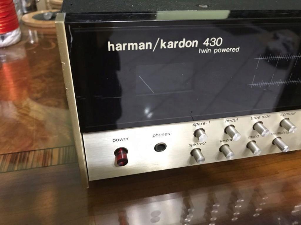 Harman kardon 430 twin power receiver amp( SOLD) Hk210
