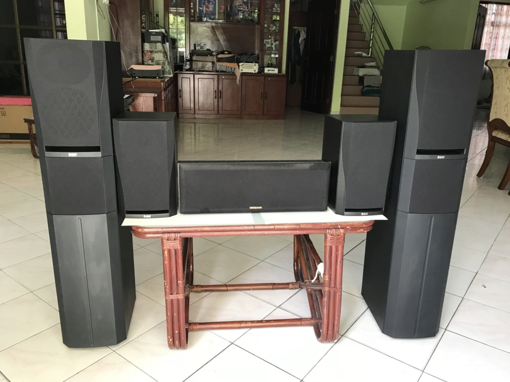 B&W DM'308nDM'302 n KLIPSCH center speakers(vintage) Img_0118